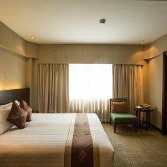 Отель Ramada Plaza by Wyndham Bangkok Menam Riverside 5* Номер Делюкс с двуспальной кроватью фото 2