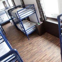 Euro Hostel Glasgow Кровать в общем номере с двухъярусной кроватью