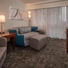 Отель Courtyard Arlington Rosslyn 3* Люкс с различными типами кроватей фото 3