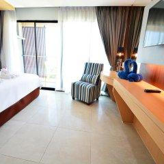 Отель Golden Dragon Beach Pattaya 3* Улучшенный номер с различными типами кроватей фото 4