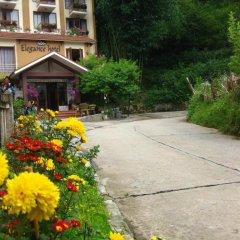 Отель Sapa Elegance Шапа приотельная территория фото 2