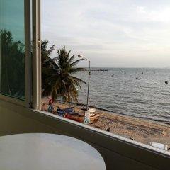 Отель Rooms @Won Beach балкон