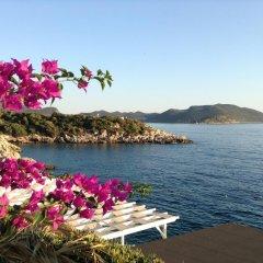 Hermes Турция, Каш - отзывы, цены и фото номеров - забронировать отель Hermes онлайн пляж