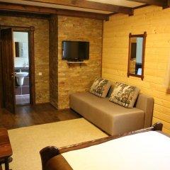Гостиница Лесная Усадьба Стандартный номер двуспальная кровать фото 5