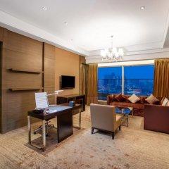 Отель Crowne Plaza Nanjing Jiangning 4* Улучшенный номер с различными типами кроватей фото 3