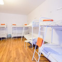 Хостел Online Кровать в общем номере с двухъярусной кроватью фото 19