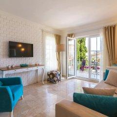 Отель Central Suite Kalkan Калкан комната для гостей фото 4