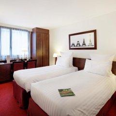 Отель Hôtel Concorde Montparnasse 4* Классический номер с двуспальной кроватью фото 2