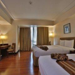Crown Regency Hotel and Towers Cebu 4* Номер Делюкс с различными типами кроватей фото 5