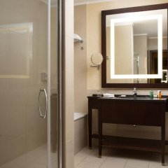 Гостиница Hilton Москва Ленинградская 5* Представительский номер с различными типами кроватей фото 17