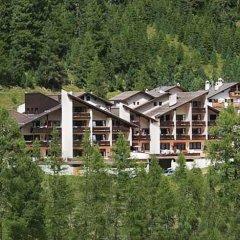 Отель Alpina Residence Стельвио приотельная территория