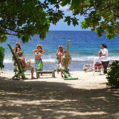 Отель Green Lodge Moorea Французская Полинезия, Папеэте - отзывы, цены и фото номеров - забронировать отель Green Lodge Moorea онлайн фитнесс-зал