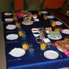 Отель Khasbah Casa Khamlia Марокко, Мерзуга - отзывы, цены и фото номеров - забронировать отель Khasbah Casa Khamlia онлайн питание фото 3