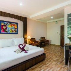 Отель Kaw Kwang Beach Resort 3* Номер категории Эконом с различными типами кроватей фото 6