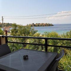 Апартаменты Studio Giannis Ситония балкон