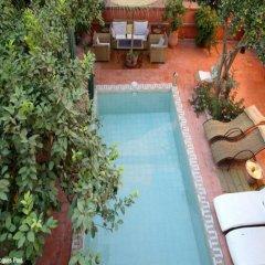 Отель Riad Les Cigognes Марокко, Марракеш - отзывы, цены и фото номеров - забронировать отель Riad Les Cigognes онлайн бассейн