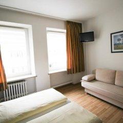 Отель Pension/Guesthouse am Hauptbahnhof Номер Комфорт с различными типами кроватей фото 4