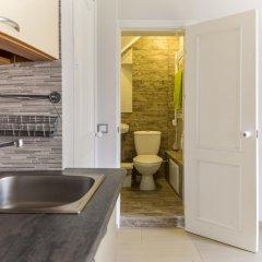 Отель Zaliojo Tilto Apartamentai Вильнюс ванная