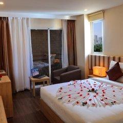 Begonia Nha Trang Hotel 3* Номер Делюкс с различными типами кроватей фото 8