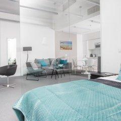 Отель Apartamenty Sky Tower Студия с различными типами кроватей фото 12