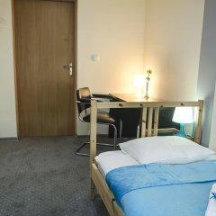 Отель Lódzki Palacyk 3* Стандартный номер с различными типами кроватей фото 4