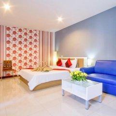 Отель Sea Breeze Jomtien Residence 3* Номер Делюкс с различными типами кроватей фото 4