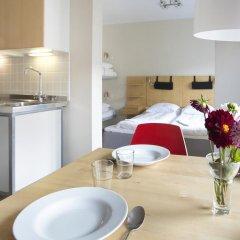 Hotel Copenhagen Apartments 2* Студия с различными типами кроватей фото 5