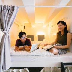 Matchbox The Concept Hostel Кровать в общем номере с двухъярусной кроватью