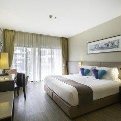 Отель Deevana Plaza Phuket 4* Номер Делюкс с двуспальной кроватью фото 13