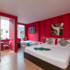Отель Cool Sea House 2* Апартаменты разные типы кроватей фото 5