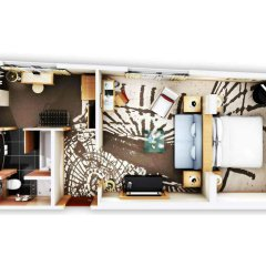 Отель Le Méridien München 5* Люкс повышенной комфортности разные типы кроватей фото 4