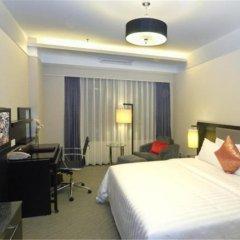 Отель Zhongshan Tegao Business Hotel Китай, Чжуншань - отзывы, цены и фото номеров - забронировать отель Zhongshan Tegao Business Hotel онлайн комната для гостей фото 3