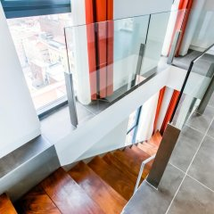 Апартаменты Cosmo Apartments Sants Улучшенные апартаменты с различными типами кроватей фото 8