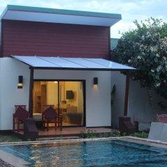 Отель Golden Bay Cottage 3* Бунгало Делюкс с различными типами кроватей фото 9