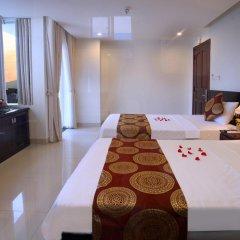 Azura Hotel 2* Номер Делюкс с различными типами кроватей фото 2