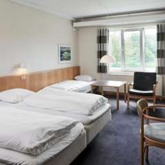 Vejle Center Hotel 3* Стандартный семейный номер с двуспальной кроватью фото 7