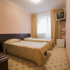 Гостиница Снежный барс Домбай 3* Стандартный номер с двуспальной кроватью фото 2