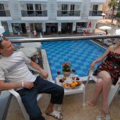 Oba Star Hotel & Spa - All Inclusive 3* Стандартный номер с различными типами кроватей фото 8