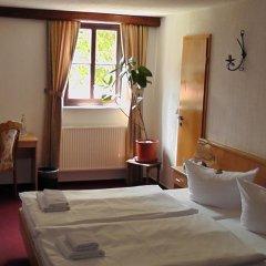 Отель Burghotel Stolpen 3* Стандартный номер с двуспальной кроватью