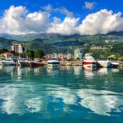 Отель Marina City Черногория, Будва - отзывы, цены и фото номеров - забронировать отель Marina City онлайн приотельная территория фото 2