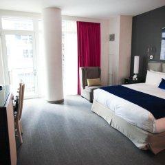Gansevoort Park Hotel NYC 5* Улучшенный номер с различными типами кроватей фото 4