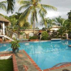 Отель Residencial Las Tejas бассейн фото 2