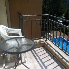 Отель Aparthotel Kamelia Garden - Official Rental Солнечный берег балкон