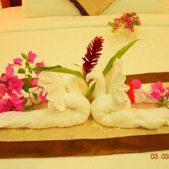 Отель Villa Chitchareune 3* Номер Делюкс с различными типами кроватей фото 4