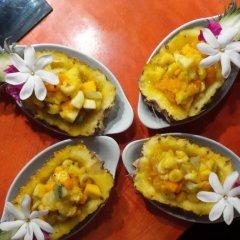 Отель Green Lodge Moorea Французская Полинезия, Папеэте - отзывы, цены и фото номеров - забронировать отель Green Lodge Moorea онлайн питание фото 2