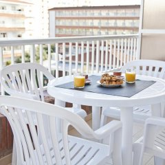 Отель RVHotels Apartamentos Lotus Испания, Бланес - отзывы, цены и фото номеров - забронировать отель RVHotels Apartamentos Lotus онлайн балкон