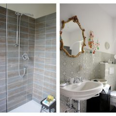 Отель Im Garten 9 Гаргаццоне ванная
