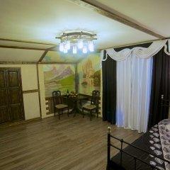 Гостиница Теремок Заволжский Апартаменты разные типы кроватей фото 27
