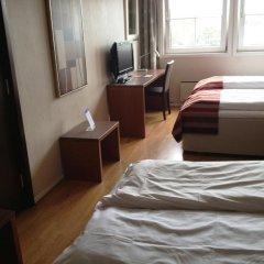 Marché Rygge Vest Airport Hotel 3* Стандартный семейный номер с двуспальной кроватью фото 7