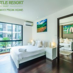 Отель The Title Phuket 4* Номер Делюкс с разными типами кроватей фото 9